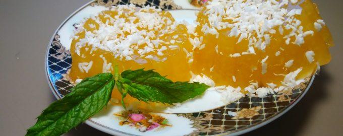 Десерт из дыни (мармелад)