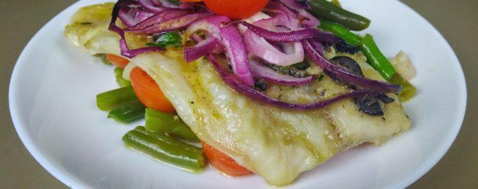 Рыба с овощами по-провански