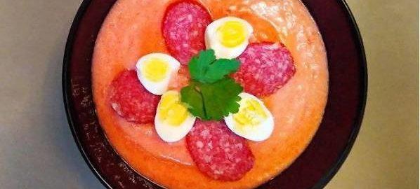 Холодный томатный суп Сальморехо