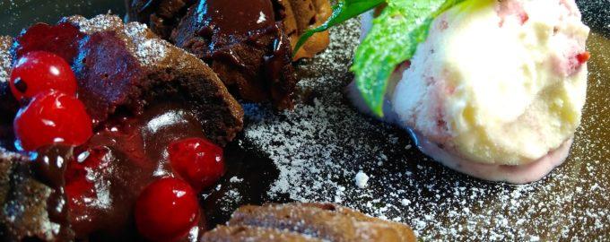 Шоколадный кекс с жидкой начинкой или Шоколадный фондан