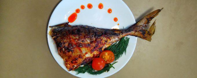 Запеченая рыба в духовке по мексикански