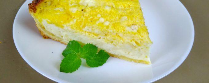 Пирог из тыквы - тыквенный тарт