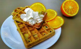 Апельсиновые вафли