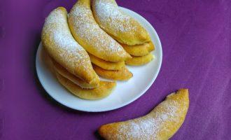 Печенье «Бананы» с творожной начинкой