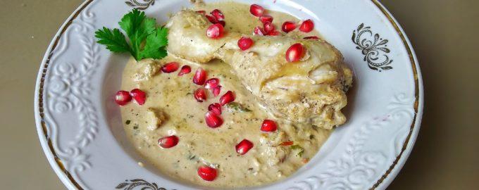 Сациви из курицы - грузинская кухня