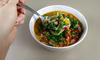 Суп с капустой Чехословацкий