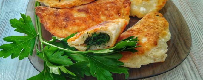 Творожные пирожки с зеленью «Манзари»