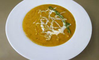 Чечевичный крем суп