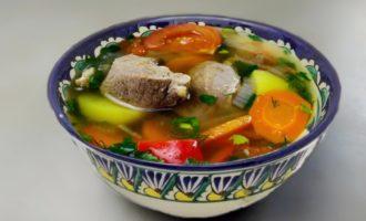 Шурпа - суп из баранины